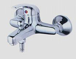 Single lever mixing faucet